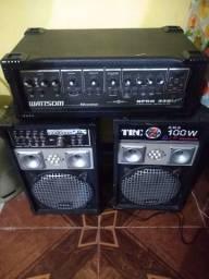 Amplificador e caixa amplificada