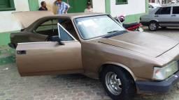 Opala comodoro SL/E 1988 coupe monocromático bege