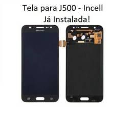 Display Completo / Tela para J5 Duos - J500 / DS - Qualidade Incell