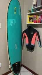 Prancha de surf + capa + long + rack de carro . Leia anúncio