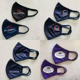 Máscaras Anatômicas Personalizadas - Máscaras Tecido Duplo - Máscaras TNT