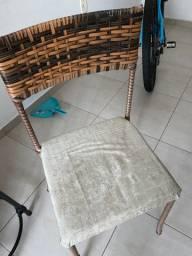 2 cadeiras de vime -