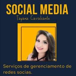 Social Media Gerente de redes sociais.