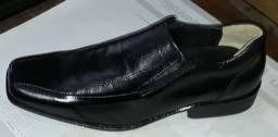 Sapatos social couro legítimo novos