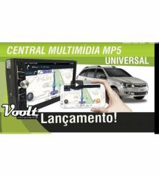 Central Multimídia Universal Mp5 Voolt