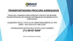 Estamos Agregando Caminhões em Sergipe