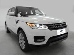 Range Rover Sport 3.0 SE 4X4 Turbo Diesel Branco 2015 Blindado Completo