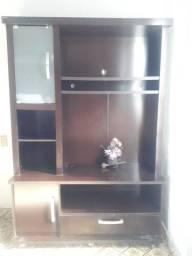 Estante para sala, com espaço para TV grande