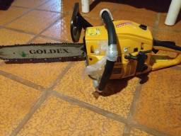 A gasolina,marca Goldex