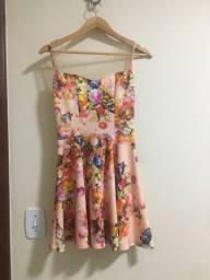 Vestido curto florido!!