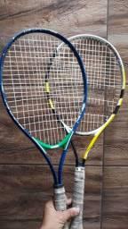 Kit Tênis Profissional com 1 Raquete Wilson + 1 Raquete Babolar+ Bolinha + bag