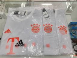 Camisas Bayern de Munique temporada 20/21