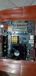Kit 775 com Dual Core e 3gb de memoria ddr2