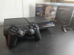 PlayStation 3 super slim 500 GB parcela até 12 vezes no cartão de crédito