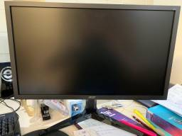 Monitor Gamer Acer LED 24´ Widescreen, Full HD, HDMI/VGA, 75Hz, 1ms - KG241 BII