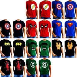 Estoque de Camisetas de Personagens