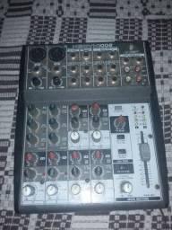 Case para notebook e mesa de áudio 4 canal
