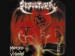 Lp do Sepultura - Morbid Visions