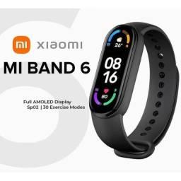 (M-TECH) Smartband Xiaomi MiBand 6 Originais Novas Lacradas + Parcelamos + Entregamos