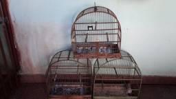 Título do anúncio: Gaiolas para passarinhos