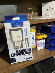 Carregador USB tipo C 5.1A