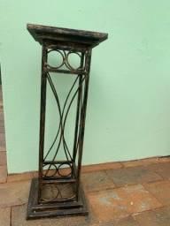 Pilar para decoracao de ferro