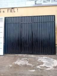 Portão padrão galvanizado