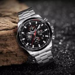 Relógio automático masculino original Forsining