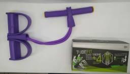 Tablet elástico de tensão com apoio para os pés