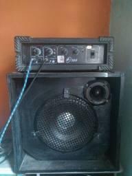 Vende-se caixa de som com amplificador
