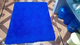 Título do anúncio: Tapete aveludado azul