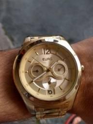 Relógio de ouro Euro