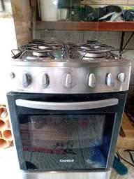 fogao de inox 4 bocas forno perfeito