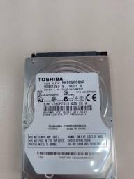 Título do anúncio: HD Toshiba 500 GB notebook