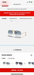Título do anúncio: Óculos rayban CÓDIGO DO MODELO?RB3025L 003/3F 58-14