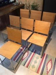 Título do anúncio: 12 cadeiras vendo por unidade