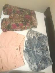 4 shorts seminovos