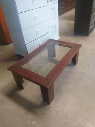 Mesa centro madeira entrego montada