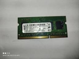 Memória ddr3 de 4gb 1600 para notebooks