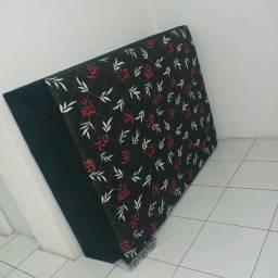 Cama box casal tamanho padrão