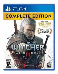 The Witcher 3: Wild Hunt Complete Edition Físico PS4 CD Projekt RED