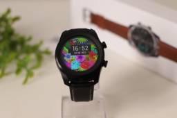 Relógio Inteligente DT79 Pulseira Preta Original Bluetooth Modo Esportes