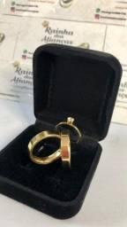 Casamento/Noivado valores promocionais/ Aço Inox Douradas