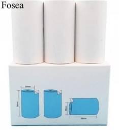 Título do anúncio: Rolo Adesivo De Papel Térmico Impressão Para Portátil Mini Foto Impressora Térmica