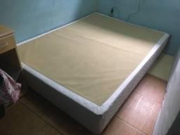 Base de box com suporte para cabeceira