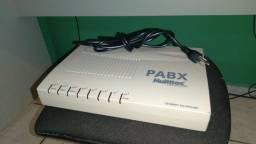 Central Telefônica P.A.B.X. Multitoc - 3 linhas | 8 ramais - ac cartão - - EnTReGo*