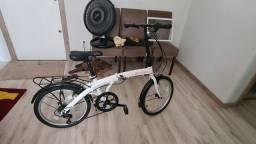 Bicicleta dobrável Durban eco+ 6 marchas