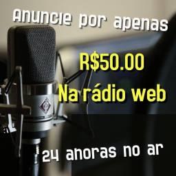 Anuncie seu negócio na webradio