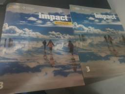 Livros de inglês Impact 3