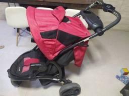 Carrinho de Bebê Off Road Cherry Infanti 3 rodas